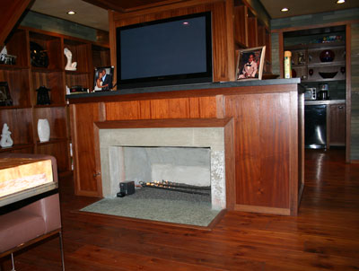 nick cannon fireplace 3